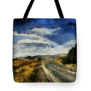 Rainbow Road - Id 16217-152106-4712 Tote Bag