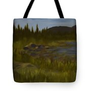 'rainbow Rocks' Tote Bag