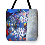 Rainbow Roller Coaster Ride By Jammer Tote Bag