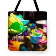 Rainbow Roses Tote Bag