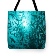 Rainbow Runners At Pohnpei Tote Bag