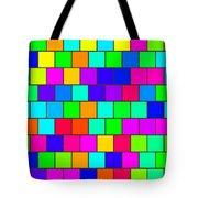 Rainbow Tiles Tote Bag