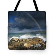 Rainbow To Heaven Shamrock Shores  Tote Bag