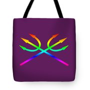 Rainbow Tridents Tote Bag