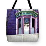 Rainbow Window Tote Bag by Julie Gebhardt