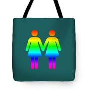 Rainbow Women Tote Bag
