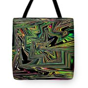 Rainbow World On A Clear Day Tote Bag