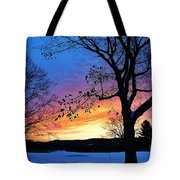 Rainbowed Sunrise Tote Bag