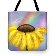 Rainbowsunflower Tote Bag