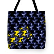 Raindance IIi - March Of The Blue People Tote Bag