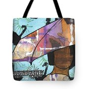 Raindrops... And Sunshine Tote Bag by Angela L Walker