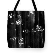 Raindrops In Slow Motion Tote Bag