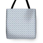 Raindrops Ltblue Pattern Tote Bag