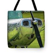 Raindrops On A Cessna - 2018 Christopher Buff, Www.aviationbuff. Tote Bag