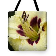 Raindrops On A Petal Tote Bag