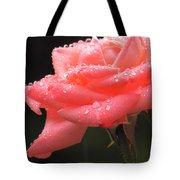 Raindrops On Roses... Tote Bag