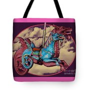 Rainey The Dragon-horse Tote Bag