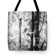 Rainforest Abstract Tote Bag