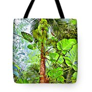 Rainforest Green Tote Bag
