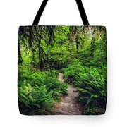 Rainforest Trail Tote Bag