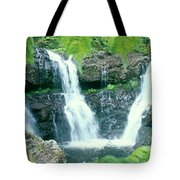Rainforest Waterfalls Tote Bag