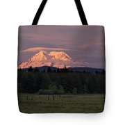 Rainier Dusk Tote Bag