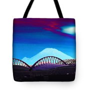 Rainier Over Sodo Tote Bag