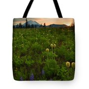 Rainier Wildflower Light Tote Bag