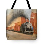 Raining Cinders Tote Bag