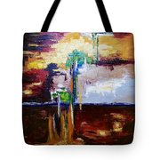 Raining Colours Tote Bag