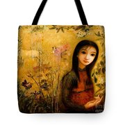 Raining Garden Tote Bag