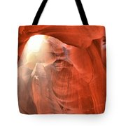 Raining Light Tote Bag
