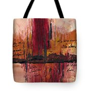 Rains Down Hell Tote Bag