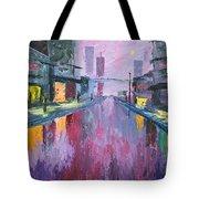 Rainy Tote Bag