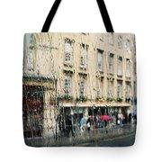 Rainy Bath Tote Bag
