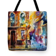 Rainy City Tote Bag