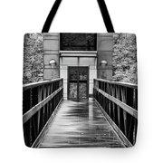 Rainy Day At Crystal Bridges Tote Bag