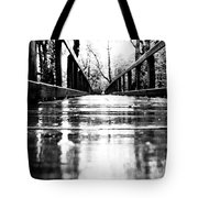Take A Walk With Me In The Rain Tote Bag