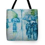 Rainy Day Impression Tote Bag