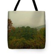 Rainy Day In White Creek Tote Bag