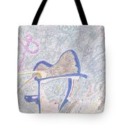 Rainy Day Kiwi Box Tote Bag