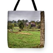 Rainy Day On The Farm Tote Bag