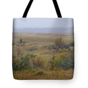 Rainy Day On The Plains Tote Bag