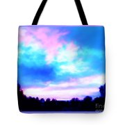Rainy Day Painting Tote Bag