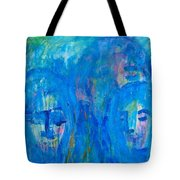 Rainy Day People Tote Bag
