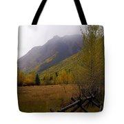 Rainy Fall Tote Bag