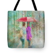 Rainy In Paris 1 Tote Bag