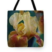 Rainy Iris Tote Bag