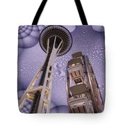 Rainy Needle Tote Bag