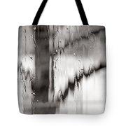 Rainy Pane Tote Bag